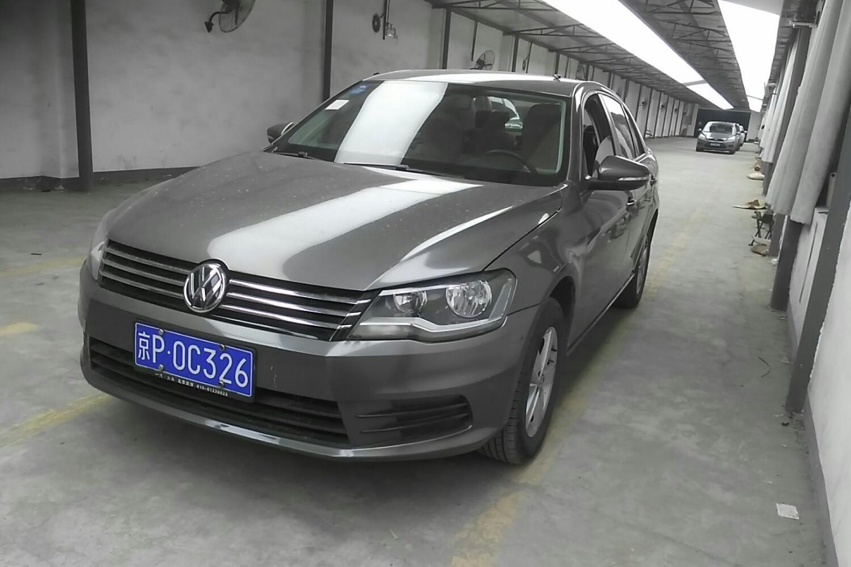 【北京】大众 宝来三厢 2013款 1.6 自动 时尚型( 灰色 )